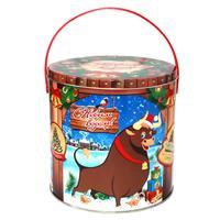 Новогодний сладкий подарок Ранчо 1000 г (с магнитом)
