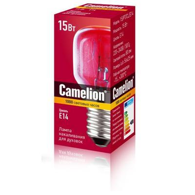 Лампа накаливания для духовок Camelion MIC 15/PT/CL/E14 12979