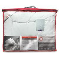 Одеяло Ol-tex Богема 140х205 см искусственный лебяжий пух/тик стеганое