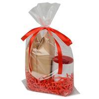 Чай подарочный Eat&Bite Tea Duo Superior листовой черный/зеленый 160 г (с кружкой Gain 320 мл, белая/красная)