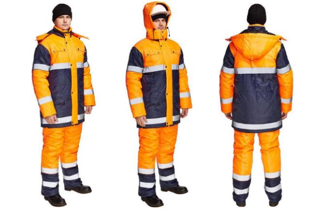 Зимний сигнальный костюм Спектр 1