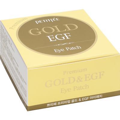Патчи для глаз Petitfee гидрогелевые с золотом и EGF (60 штук в  упаковке)