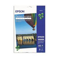 Фотобумага для цветной струйной печати Epson Premium S041332 односторонняя (полуглянцевая, А4, 251 г/кв.м, 20 листов)