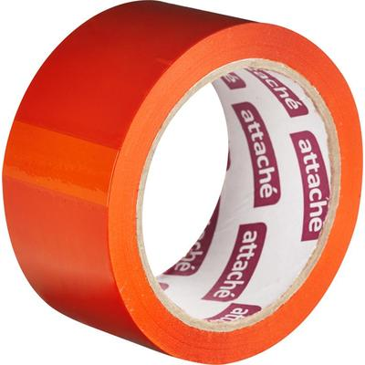 Клейкая лента упаковочная Attache 48 мм x 66 м 45 мкм оранжевая