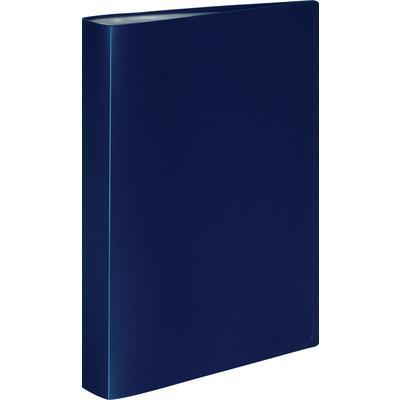 Папка файловая на 60 файлов Attache A4 35 мм синяя (толщина обложки 0.6 мм)