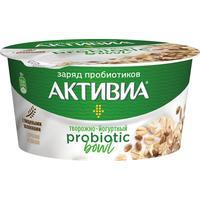 Йогурт Активиа Probiotic Bowl отруби и злаки 3.5% 135 г