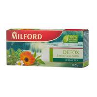 Чай Milford Detox Lemon Gras-Nettle травяной 20 пакетиков