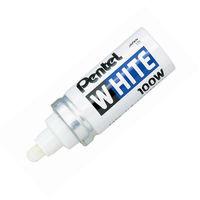 Маркер промышленный Pentel для универсальной маркировки белый (6.5 мм)