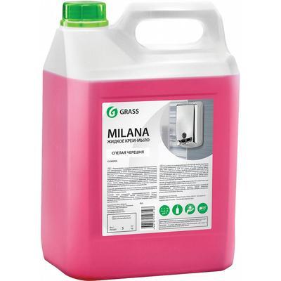 Крем-мыло Grass Milana Спелая черешня 5 л