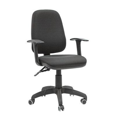 Кресло офисное Chairman 661 черное (ткань/пластик)