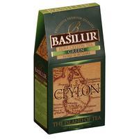 Чай Basilur Чайный остров Цейлон зеленый 100 г