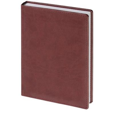 Ежедневник датированный 2022 год Attache Вива искусственная кожа А5 176  листов бордовый (148х218 мм)