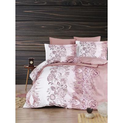 Постельное белье DO&CO Vesta разноцветное (2-спальное с европростыней, 2 наволочки 50x70 см, 2 наволочки 70x70 см, сатин)