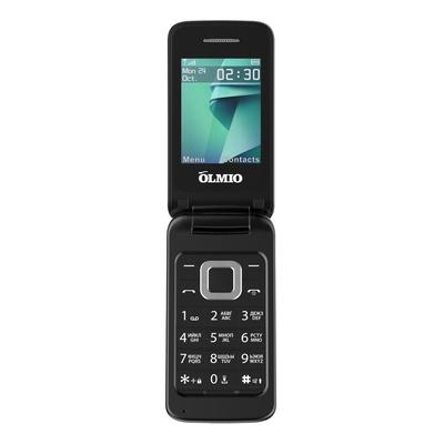 Мобильный телефон Olmio F18 черный