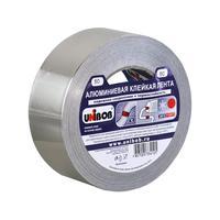 Клейкая лента алюминиевая Unibob 50 мм x 50 м 70 мкм серая