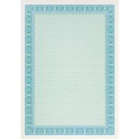 Сертификат-бумага Decadry синяя рамка  (А4, 115 г/кв.м, 25 листов в упаковке)