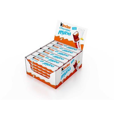 Шоколад Kinder Maxi (36 штук по 21 г)