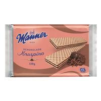 Вафли Manner Knuspino с шоколадным кремом 110 г