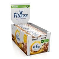 Батончики мюсли Fitness с цельными злаками/шоколадом/бананом (24 батончика по 23.5 г)