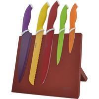 Набор ножей Winner нержавеющая сталь 6 предметов разноцветные (WR-7329)
