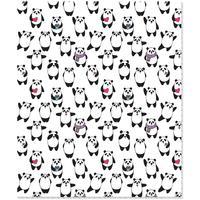 Тетрадь общая №1 School Pandas A5 48 листов в клетку на скрепке
