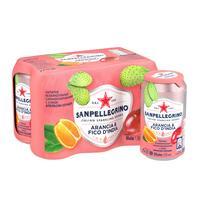 Напиток S.Pellegrino апельсин-опунция 0.33 л (6 штук в упаковке)
