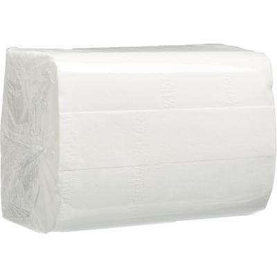 Салфетки бумажные 2-слойные 20х15,5 белая 200 штук в упаковке СД10