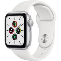 Смарт-часы Apple Watch Series SE серебристые MYDM2RU/A