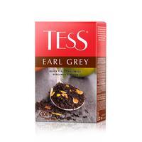 Чай Tess Earl Grey черный с лаймом, апельсином и бергамотом 100 г