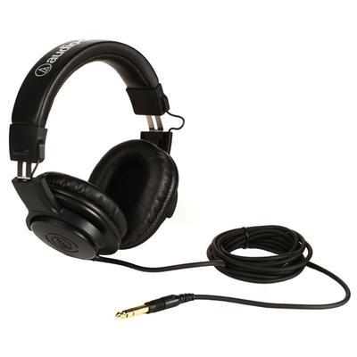 Наушники Audio-Technica ATH-M20X черные