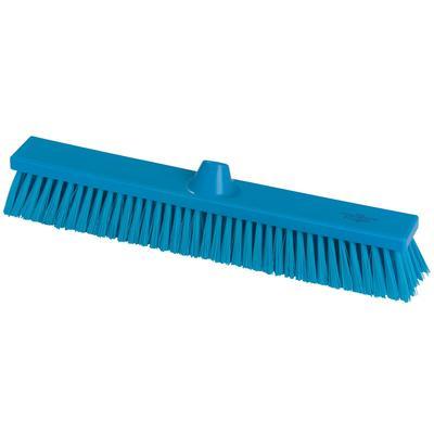Щетка для пола Hillbrush B1786B 50 см жесткая щетина (синяя)