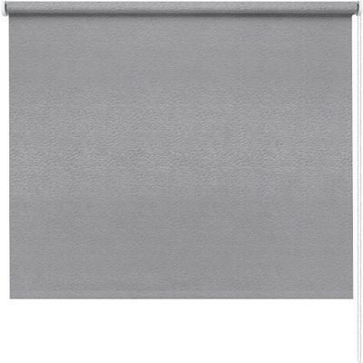 Рулонная штора Морзе серая (830x1600 мм)