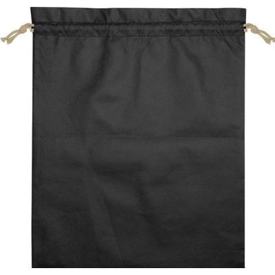 Мешочек подарочный Stuff L черный (39х49 см)