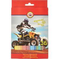 Карандаши цветные Koh-I-Noor Sport 36 цветов шестигранные