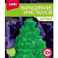 Набор для выращивания кристаллов Lori Зеленая елочка