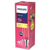 Лампа светодиодная Philips 4 Вт E14 свеча 3000 К теплый белый свет