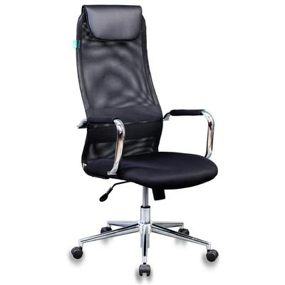 Кресло для руководителя Бюрократ KB-9N черное (искусственная кожа/сетка/ткань, металл)