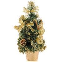 Елка новогодняя настольная 30 см с декором