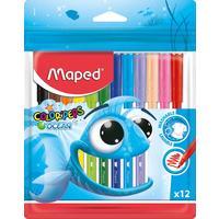 Фломастеры Maped Color'peps ocean 12 цветов