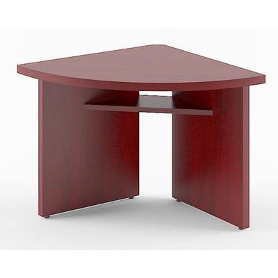 Стол для заседаний Born угловой элемент (бургунди, 840х840х750 мм)
