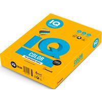 Бумага цветная для печати IQ Color желтая интенсив SY40 (А4, 80 г/кв.м, 500 листов)