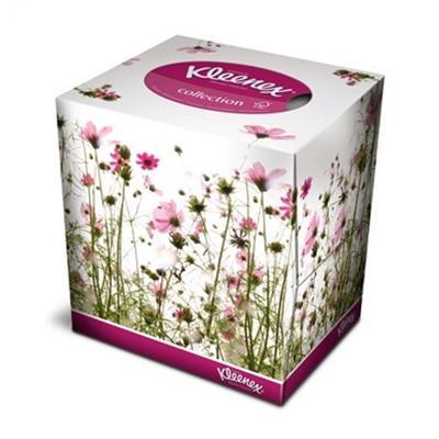 Салфетки косметические Kleenex Collection 2-слойные (100 штук в  упаковке)