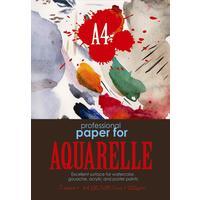Папка для рисования акварелью Kroyter Aquarelle (А4, 7 листов)