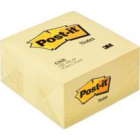 Стикеры Post-it Original 76х76 мм пастельные желтые (1 блок, 450 листов)