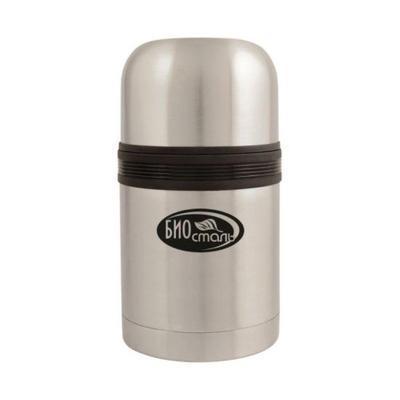 Термос Biostal 750 мл металлик/черный