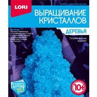 Набор для выращивания кристаллов Lori Голубая елочка