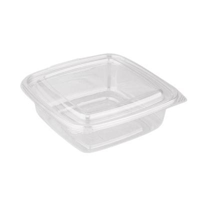 Одноразовый пластиковый контейнер Стиропласт 1000 мл прозрачный (300 штук в упаковке)