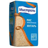 Рис длиннозерный Мистраль Янтарь 900 г