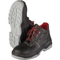Ботинки Lider натуральная кожа черные с металлическим подноском размер 42