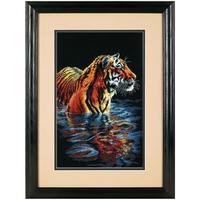 Набор для вышивания Dimensions Купающийся тигр 23x36 см